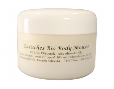 Basisches Bio Body-Mousse 100ml