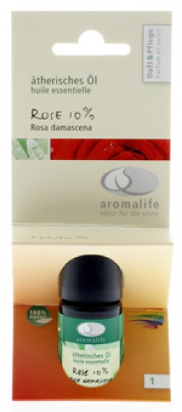 Rose 10% ätherisches Öl Aromalife 5ml